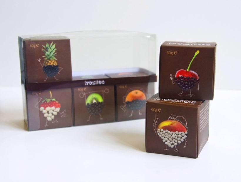 Trozitos (frutas secas con chocolate) 4