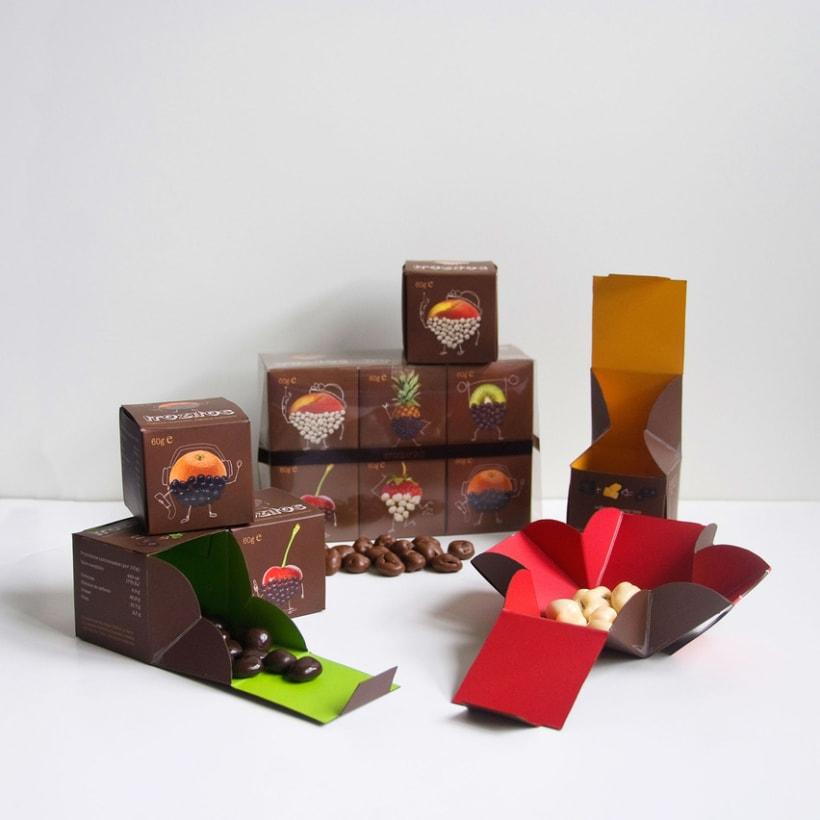 Trozitos (frutas secas con chocolate) 1
