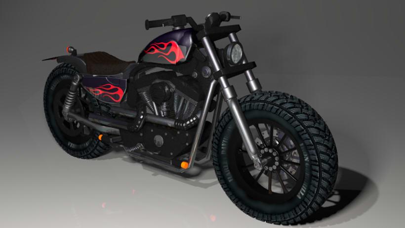 "Harley Davidson 3D ""Iron Guerrilla"" 1"