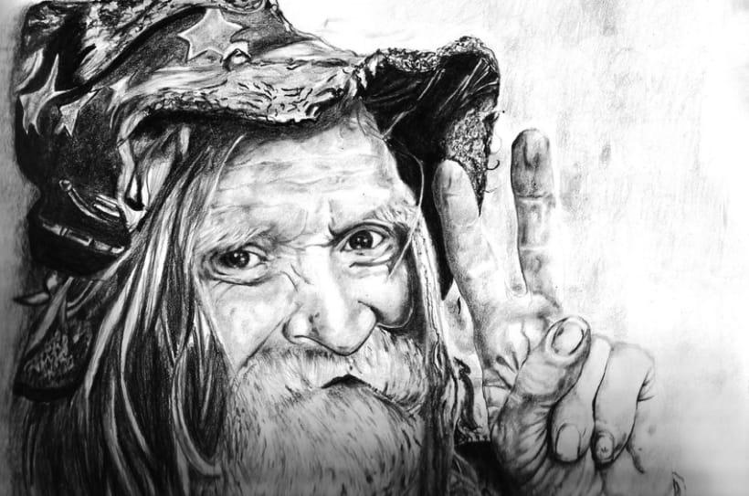 Viejo De la Calle (Old man of the Street) 2