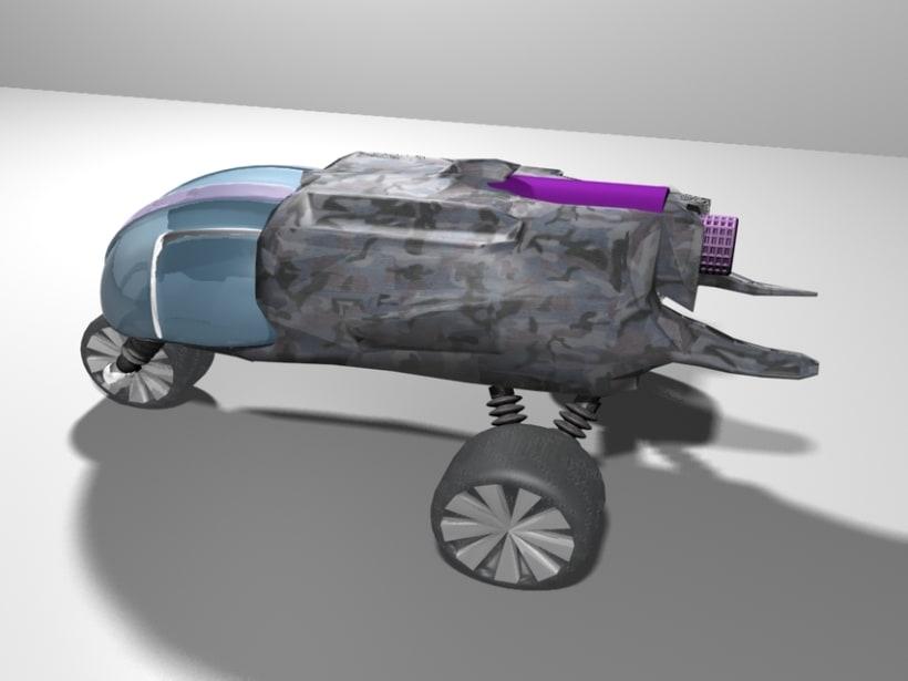 Vehículo 3d (beta) 3
