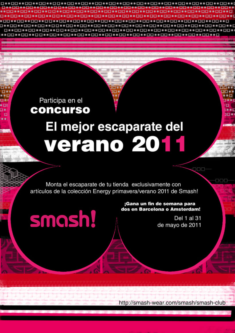 Cartel/ Flyer Smash! 2