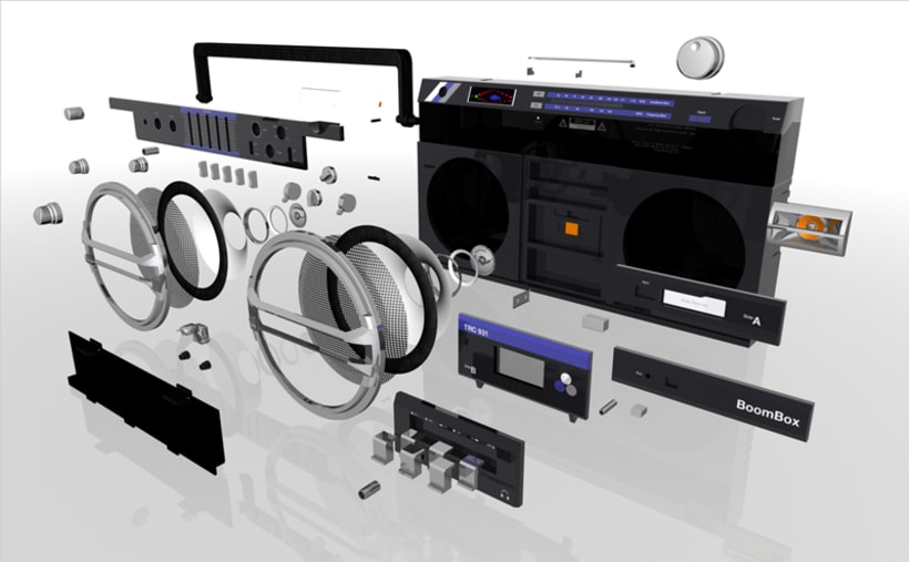 BoomBox Naone Blaster TRC 931 5