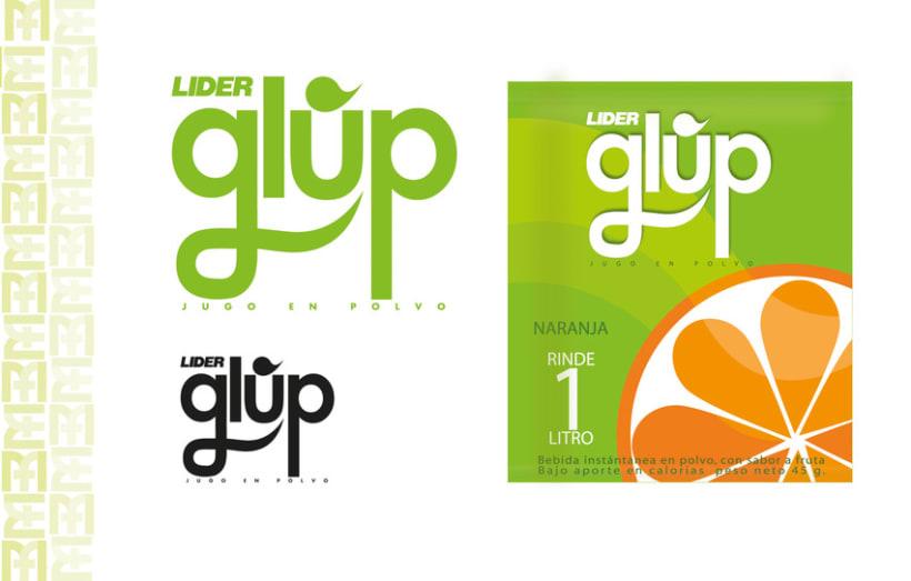 Desarrollo Marca GLUP. 1