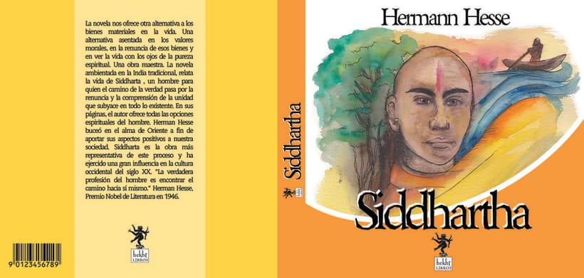 Portada/Contra portada/ Sidartha 1