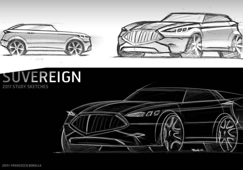 Car Sketches 9