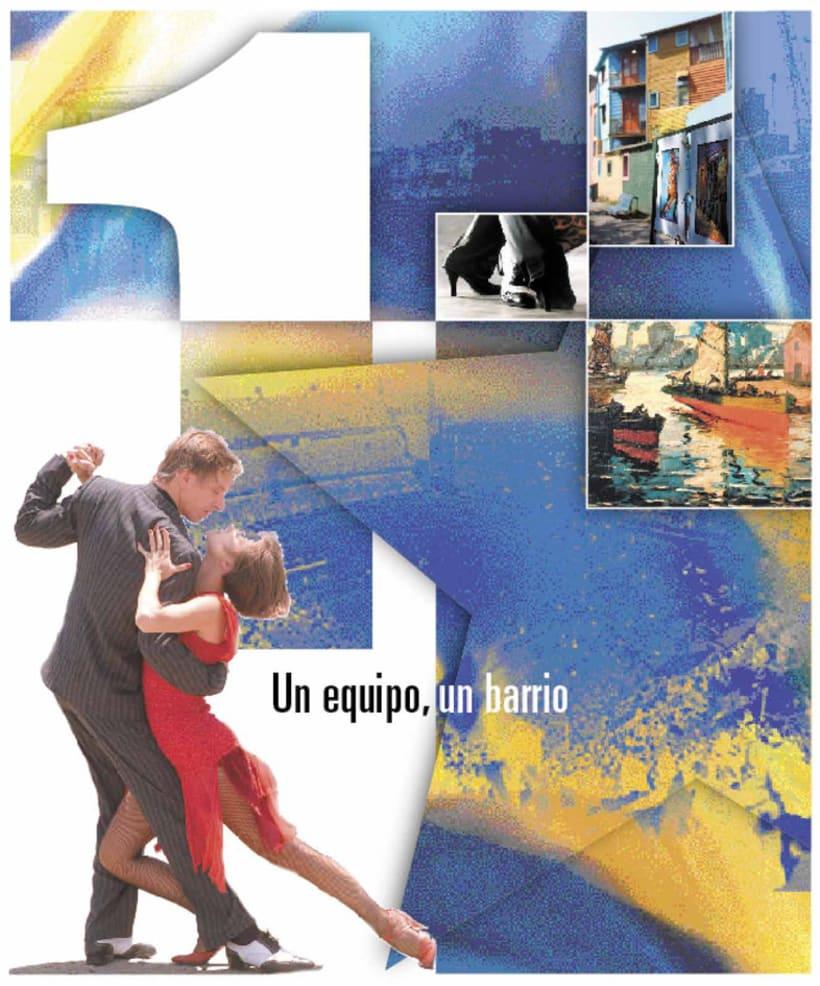 La Nación Deportiva, portadas del libro de Boca 1