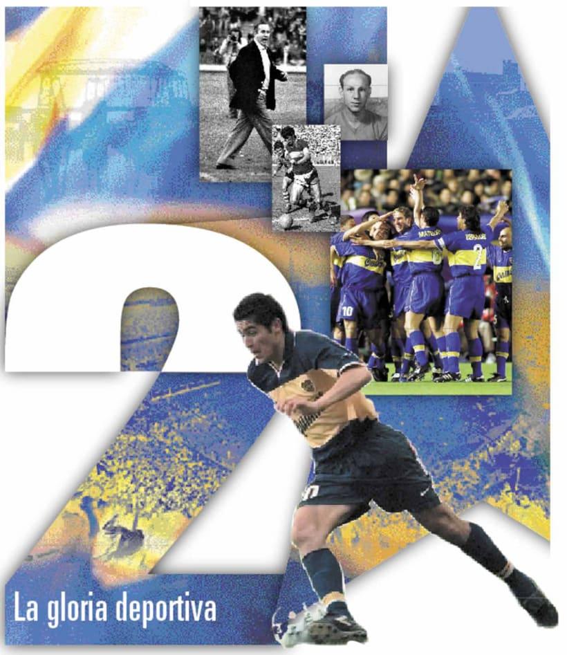 La Nación Deportiva, portadas del libro de Boca 2