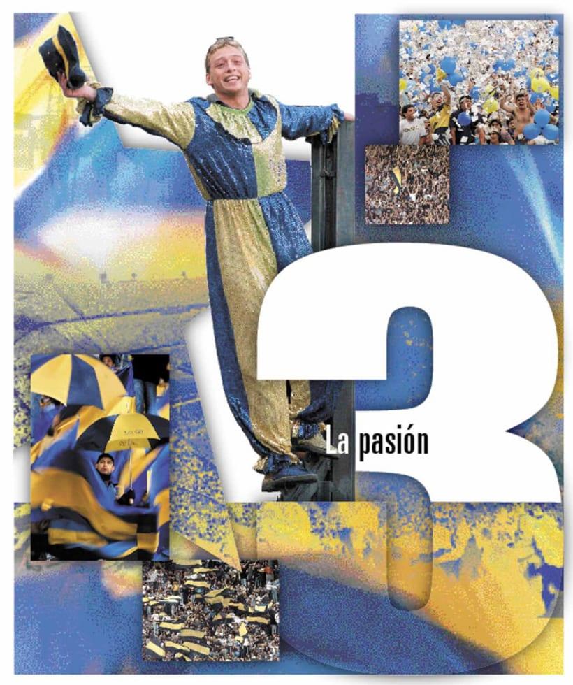 La Nación Deportiva, portadas del libro de Boca 3