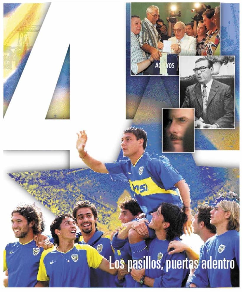La Nación Deportiva, portadas del libro de Boca 4