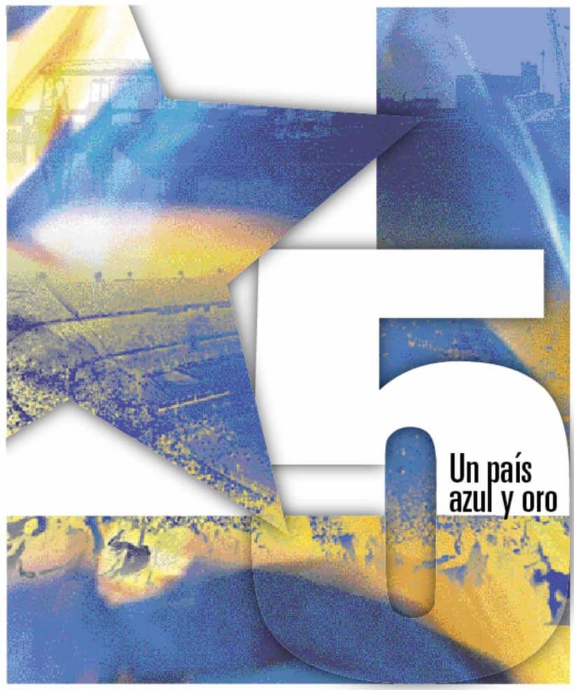La Nación Deportiva, portadas del libro de Boca 5
