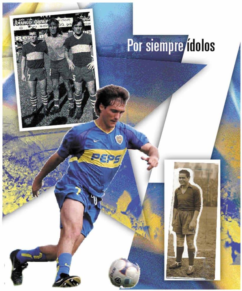 La Nación Deportiva, portadas del libro de Boca 6