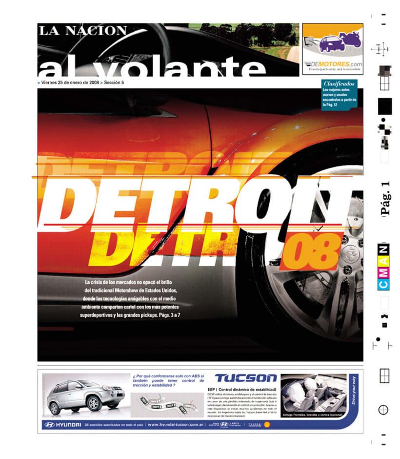 Suplemento Al Volante, Diario La Nación 1