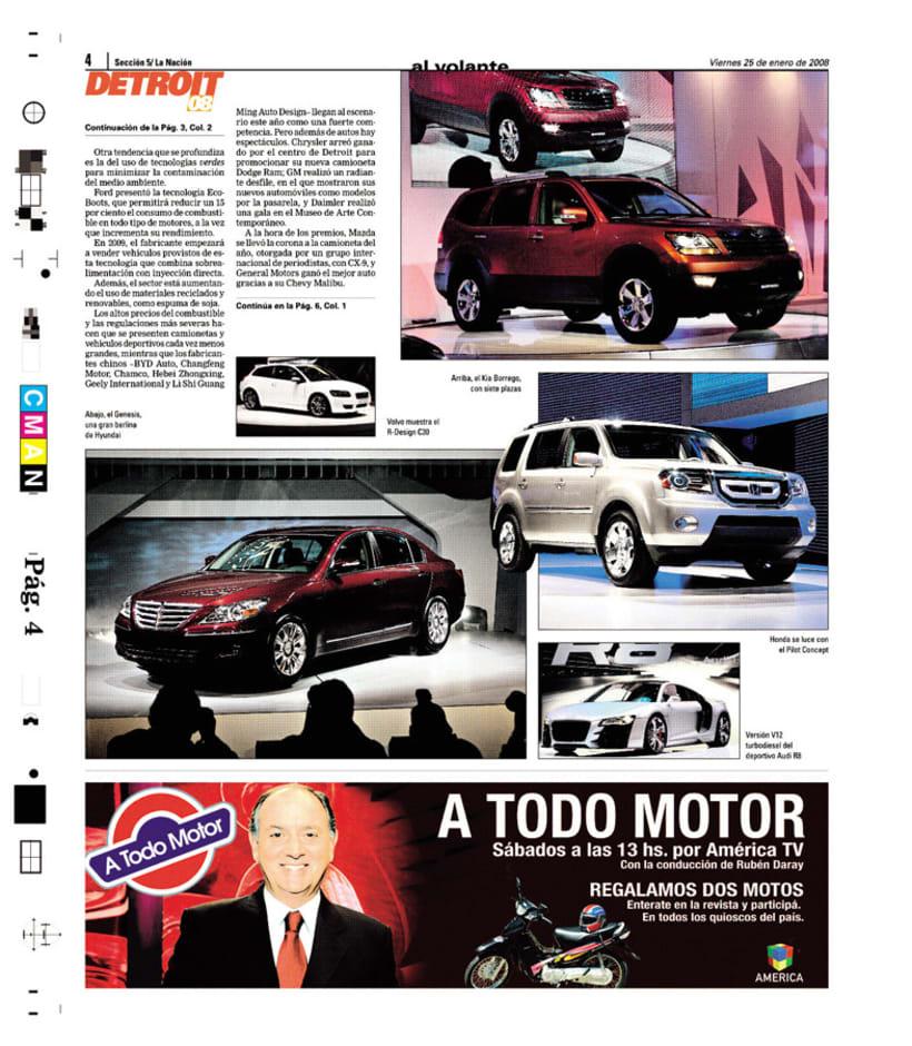 Suplemento Al Volante, Diario La Nación 4
