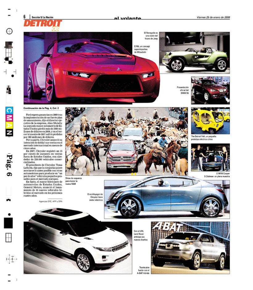 Suplemento Al Volante, Diario La Nación 5