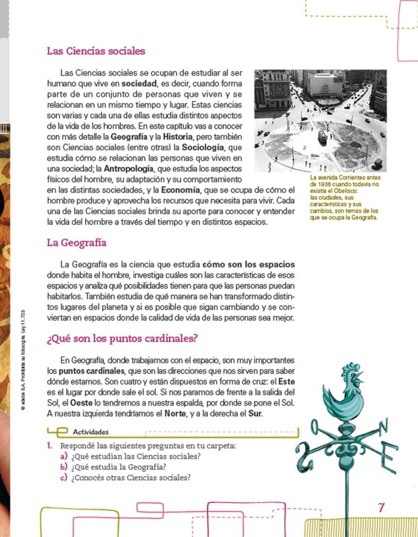 Editorial EDEBE, manual de Sociales 4º ciclo 2012 2