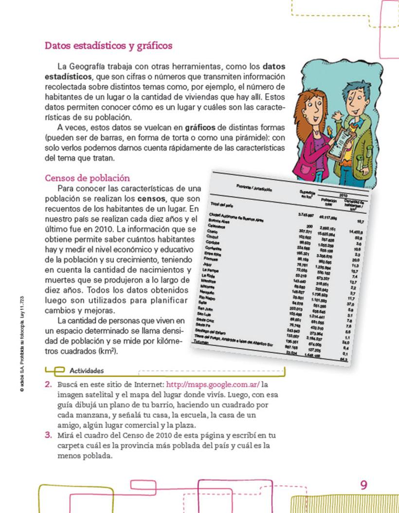 Editorial EDEBE, manual de Sociales 4º ciclo 2012 3