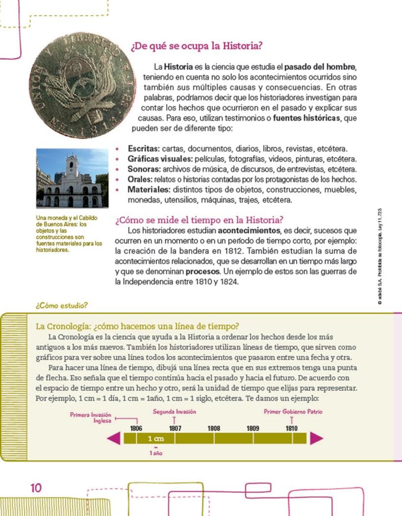 Editorial EDEBE, manual de Sociales 4º ciclo 2012 4