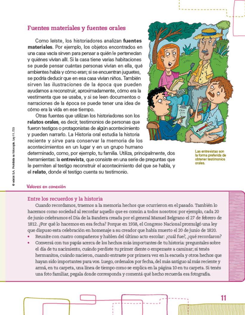 Editorial EDEBE, manual de Sociales 4º ciclo 2012 5