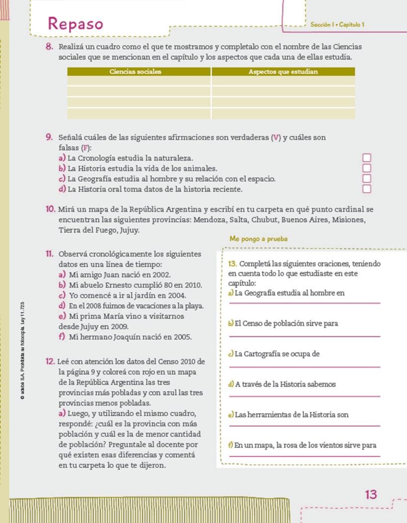 Editorial EDEBE, manual de Sociales 4º ciclo 2012 6