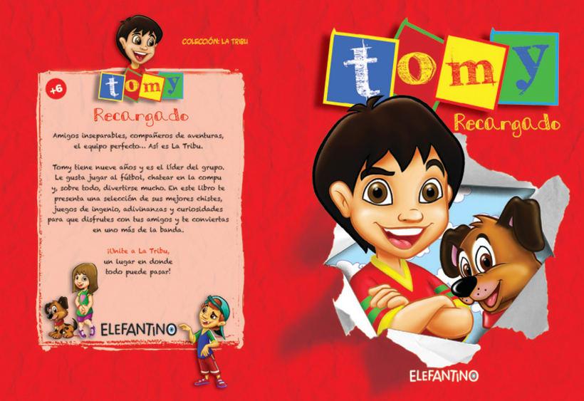 Editorial BEEME, Libro de cuentos y chistes Tomy 1