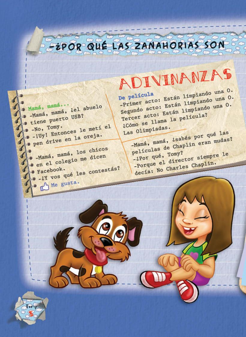 Editorial BEEME, Libro de cuentos y chistes Tomy 8