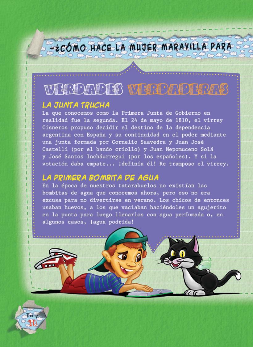 Editorial BEEME, Libro de cuentos y chistes Tomy 10