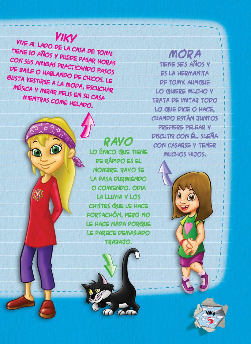 Editorial BEEME, Libro de cuentos y chistes VIKY 4