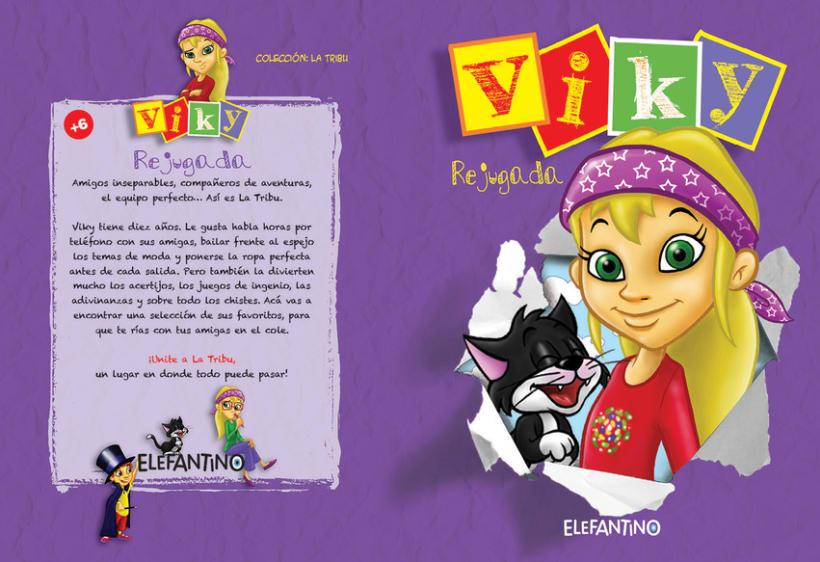 Editorial BEEME, Libro de cuentos y chistes VIKY 1
