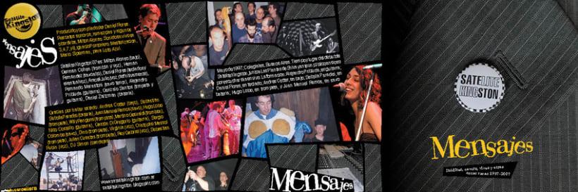 Cover de Satélite Kingston, Mensajes 1