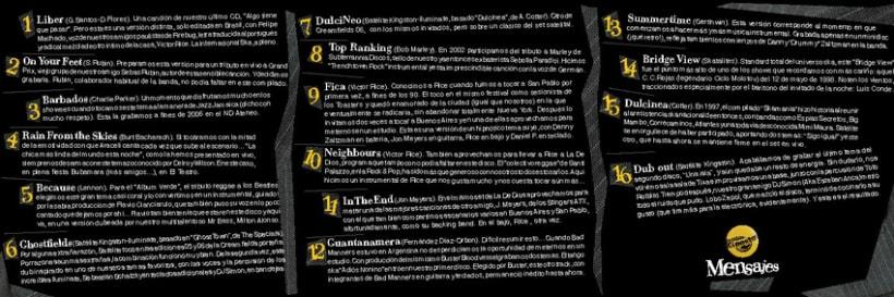 Cover de Satélite Kingston, Mensajes 2