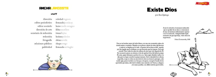 Ancha Langosta, proyecto personal 2