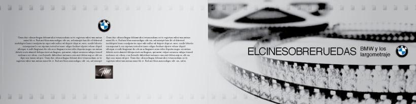 Boceto de catalogo para BMW 1