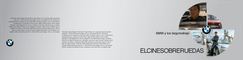 Boceto de catalogo para BMW 2