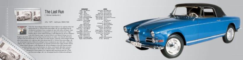 Boceto de catalogo para BMW 4
