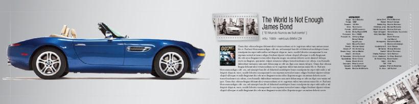 Boceto de catalogo para BMW 5
