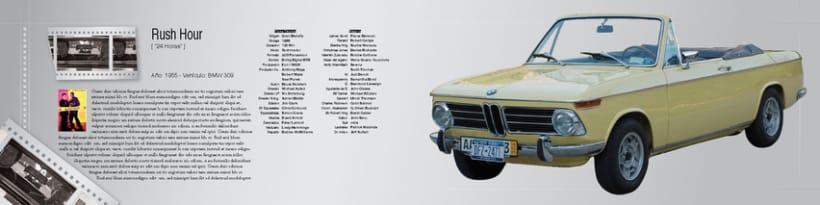 Boceto de catalogo para BMW 6