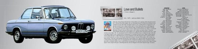 Boceto de catalogo para BMW 7