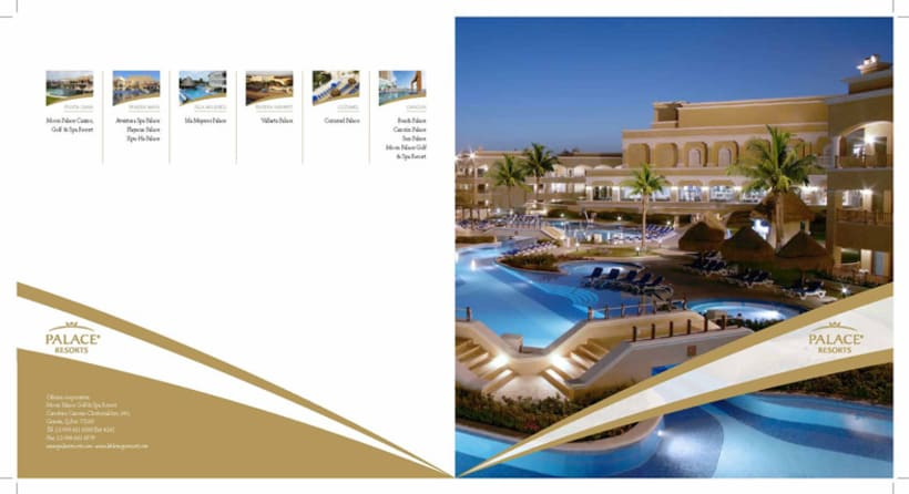 Boceto folleto Hotel Palace 1
