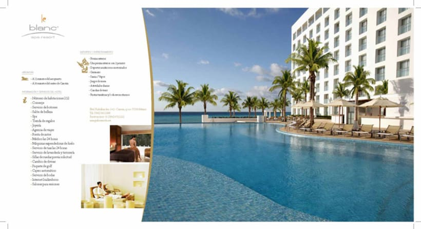 Boceto folleto Hotel Palace 4