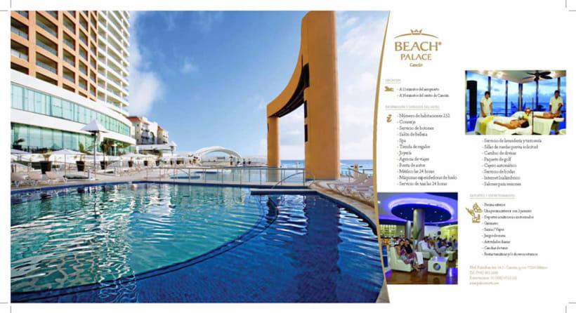 Boceto folleto Hotel Palace 5