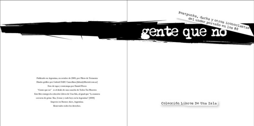 Editorial Una Isla, Libro Gente que No 2