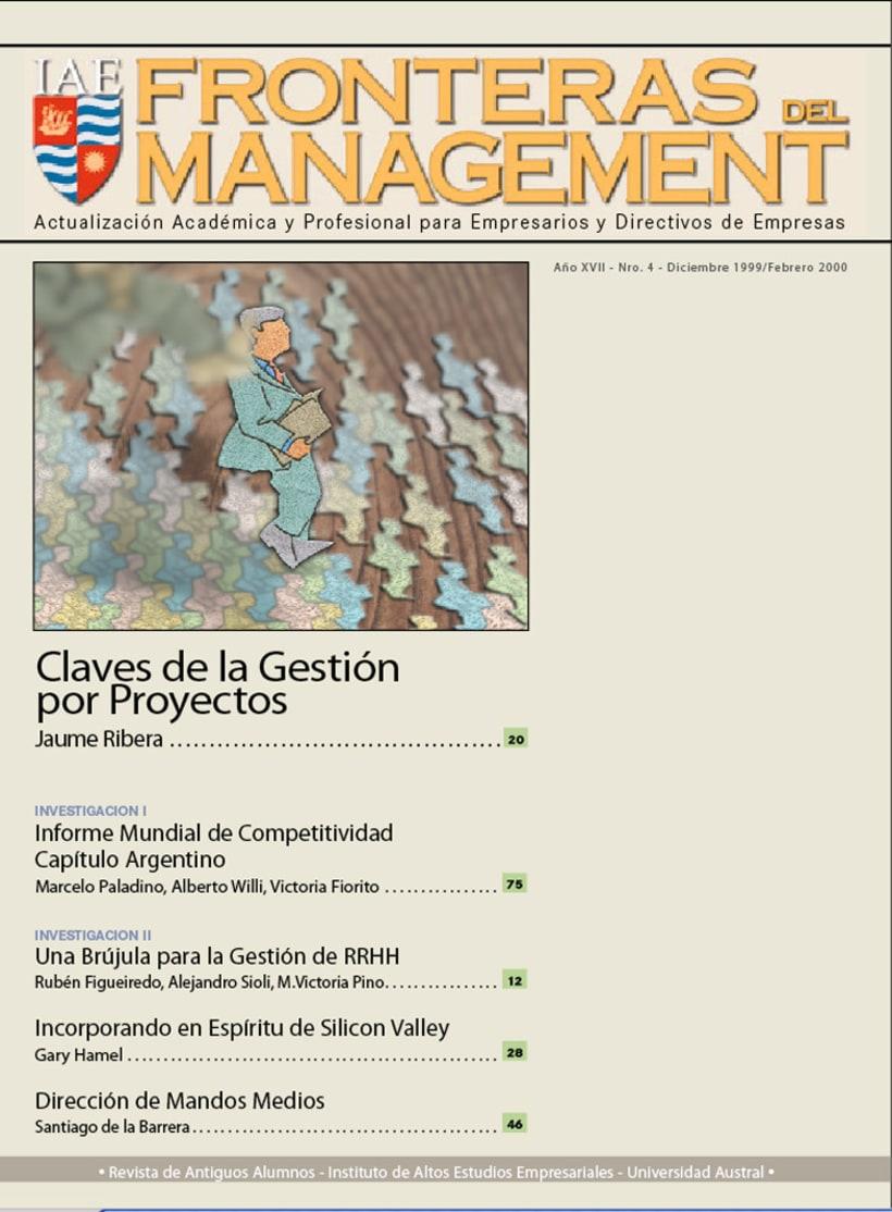 IAE, revista de antiguos alunmos, Fronteras del Management 3
