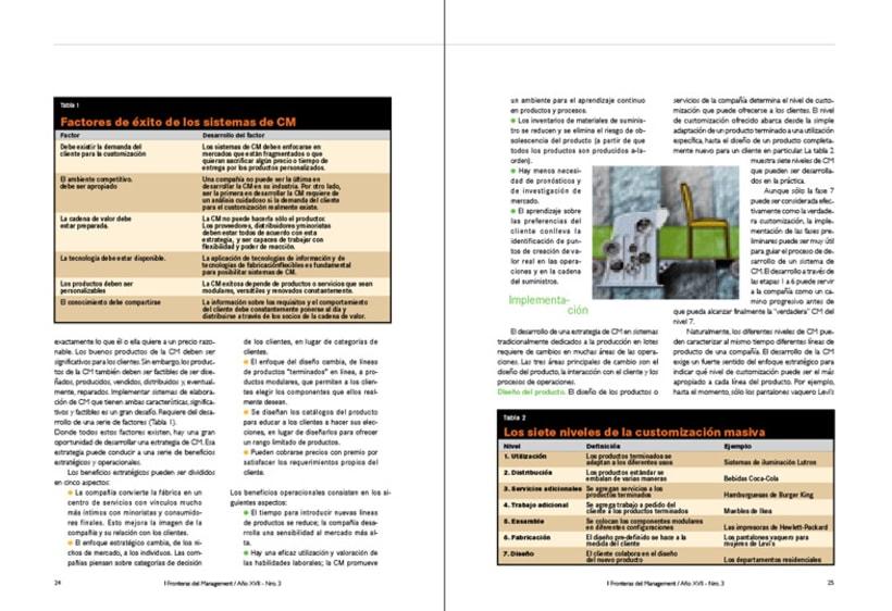 IAE, revista de antiguos alunmos, Fronteras del Management 5