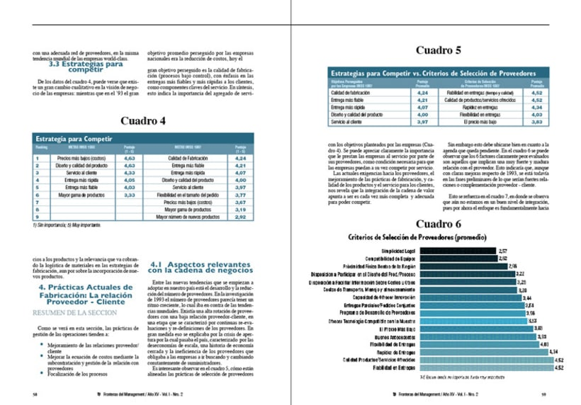 IAE, revista de antiguos alunmos, Fronteras del Management 7
