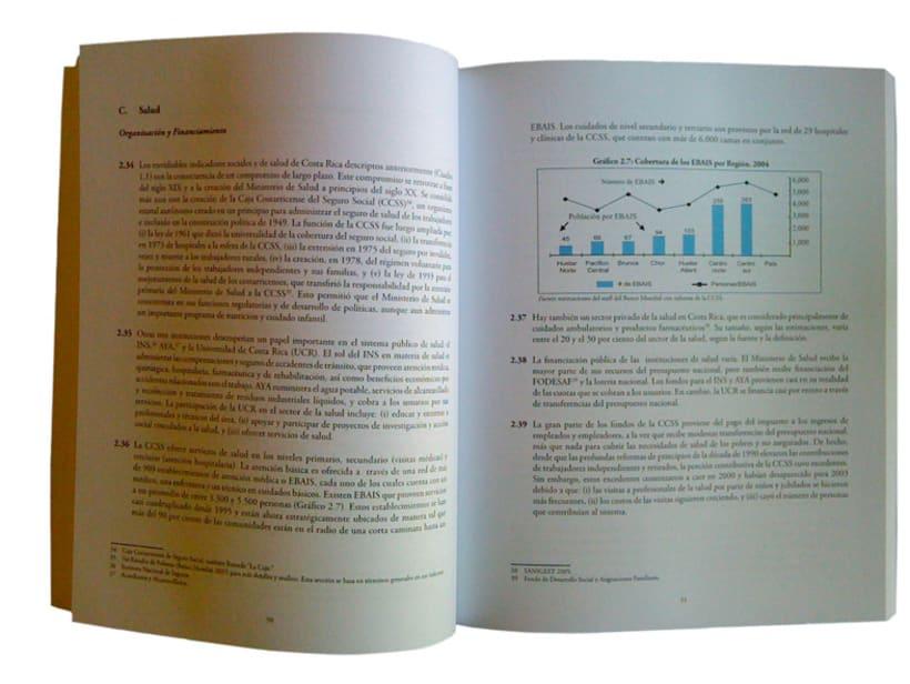 Libro para el BID y Banco Mundial, sobre Costa Rica 2