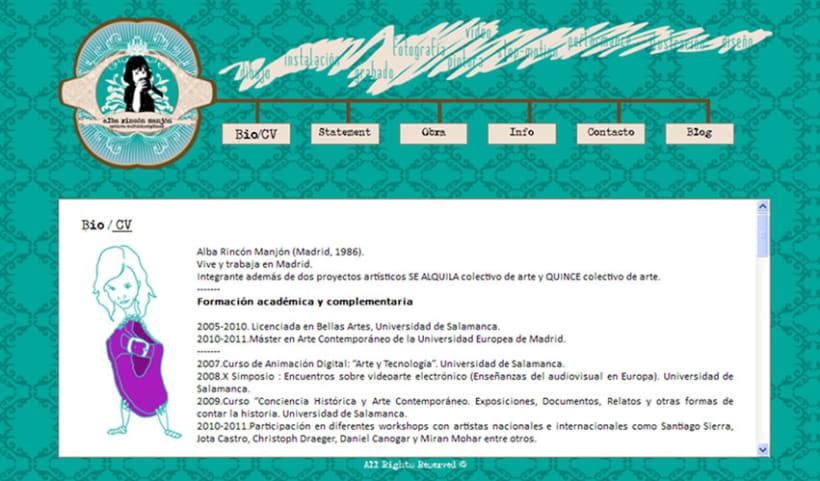 Diseño página web 5