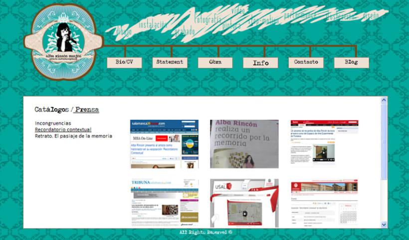 Diseño página web 4
