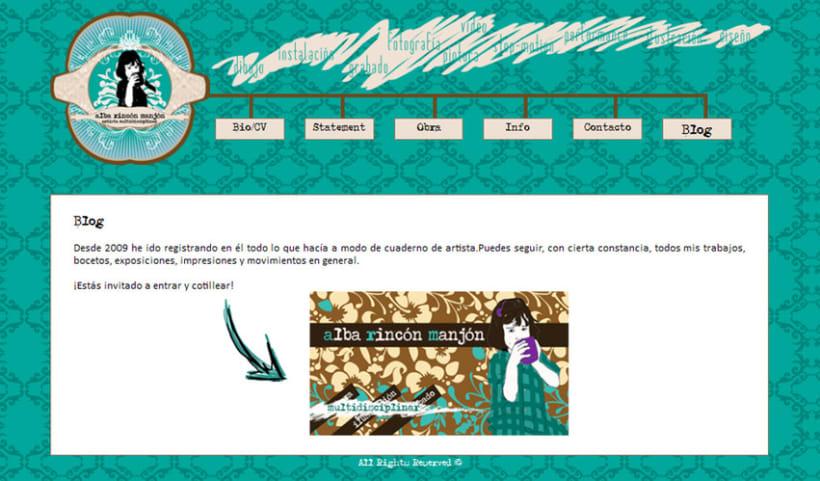 Diseño página web 3