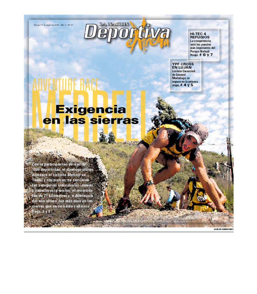Deportiva Xtrema, Diario La Nación 1